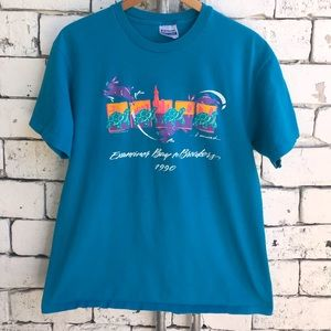 1990 Bay Area Tortoise and the Hare Marathon Tee